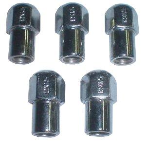 EMPI 9538 CHROME LUG NUTS M12-1.5 MAG WHEELS RIM VW BUG