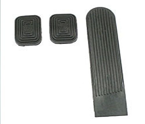 EMPI 98-1068 VW BUG BUS GHIA GAS CLUTCH BRAKE PEDAL PAD SET