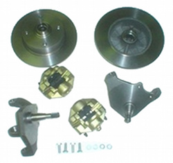 VW LINK PIN DROPPED SPINDLE DISC BRAKE KIT COMPLETE FITS 1966 AND OLDER