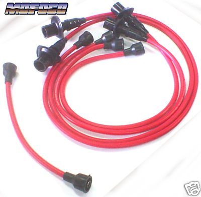 111-998-031R Red VW Bug Spark Plug / Ignition Wires