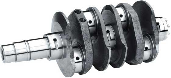 VW 10692 69MM VOLKSTROKER COUNTERWEIGHTED CRANKSHAFT