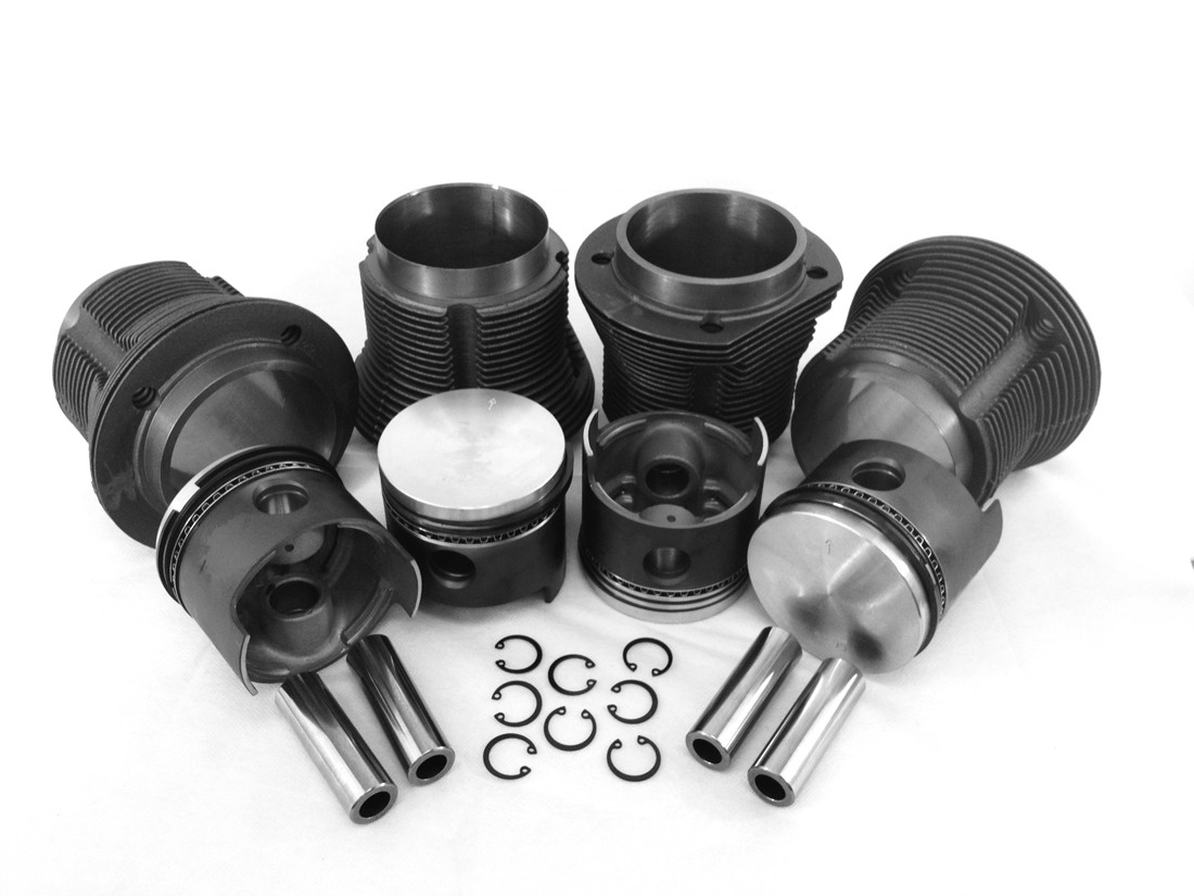 VW Type 1 88mm Slip In Piston Kit AA Performance