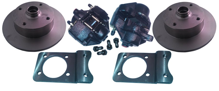 VW SUPER BEETLE FRONT AXLE DISC BRAKE CONVERSION KIT